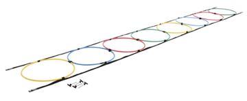Imagem de Escada com Arcos para Treinamento de Agilidade – 12 Arcos