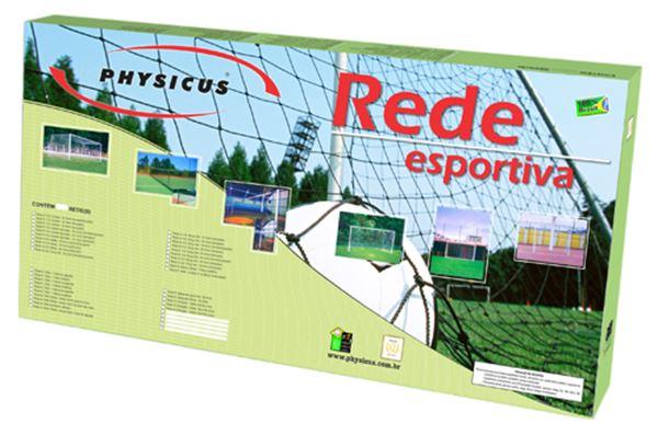 Imagem de Rede para Vôlei - 4 Faixas de Algodão
