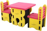 Imagem de Mesa Quadrada com Cadeiras em E.V.A.