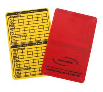 Imagem de Jogo de Cartões para Futebol de Campo