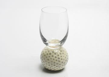 Imagem de Taça para Água/Dose com Base de Bola de Golfe – 60 ml
