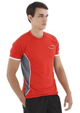 Imagem de Camiseta Unissex com Lateral Cinza