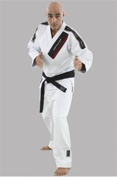 Imagem de Kimono Jiu-Jitsu Competição Adulto Branco – A1