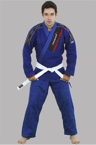 Imagem de Kimono Jiu-Jitsu Competição Adulto Azul – A2