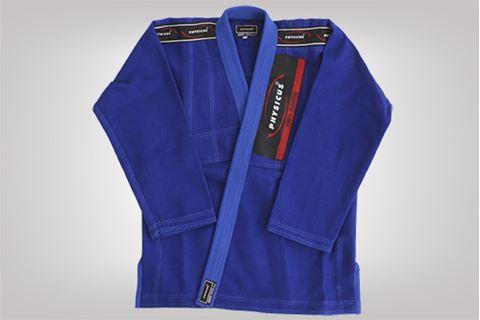 Imagem de Kimono Jiu-Jitsu Competição Adulto Azul – A4
