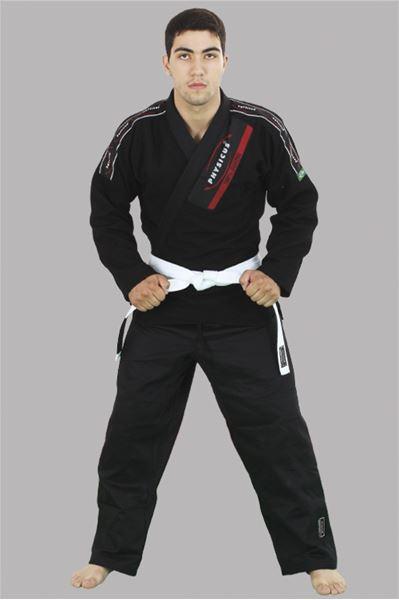 Imagem de Kimono Jiu-Jitsu Competição Adulto Preto – A2