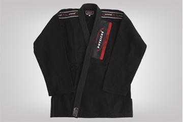 Imagem de Kimono Jiu-Jitsu Trançado Adulto Preto – A4