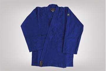 Imagem de Kimono Judô Combate Adulto Azul – A4