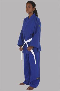 Imagem de Kimono Judô Trançadinho Azul – M4