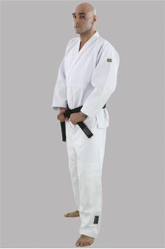 Imagem de Kimono Judô Profissional Adulto Branco – A2