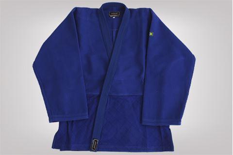 Imagem de Kimono Judô Profissional Adulto Azul – A3
