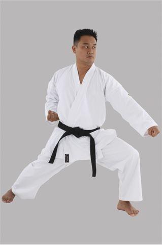 Imagem de Kimono Karatê Combate Adulto Branco – A1