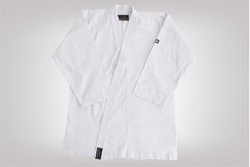 Imagem de Kimono Karatê Combate Adulto Branco – A3