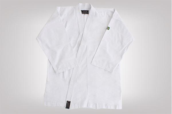 Imagem de Kimono Karatê Combate Adulto Branco – A4
