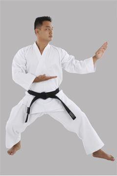 Imagem de Kimono Karatê Lona PA 16 Adulto Branco – A4