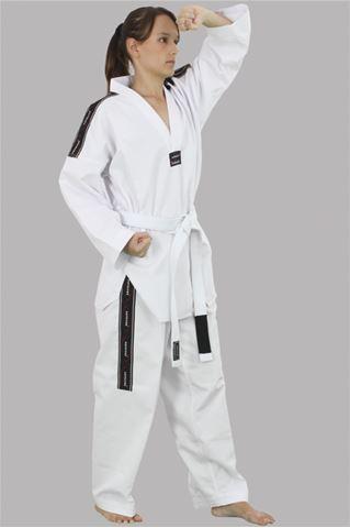 Imagem de Dobok Champ Adulto Branco com Gola Branca – A2