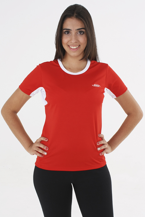 e9c8557b9c097 Baby Look Feminina Modelo 1. Camiseta ...