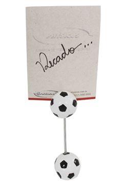 Imagem de Porta Recado Bola de Futebol