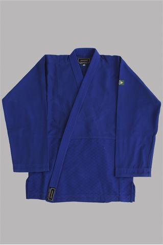 Imagem de Kimono Judô Trançadinho Adulto Azul – A4