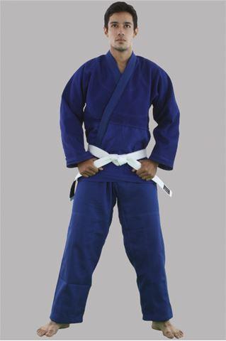 Imagem de Kimono Judô Profissional Adulto Azul – A4