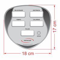 Imagem de Adesivo para  Painel da Linha Classic Modelo 1 Painel P.U Cinza