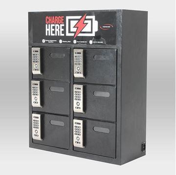 Imagem de Box Charger com Fechadura Eletrônica