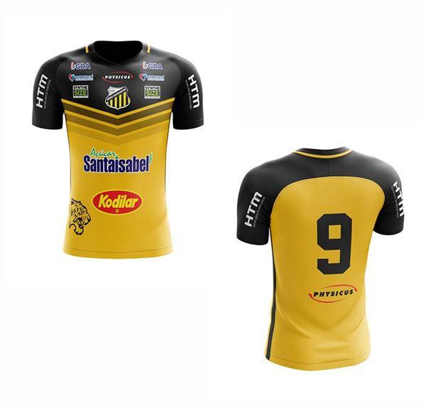 Imagem de Camiseta Oficial Juvenil  Modelo I - Pred. Amarela