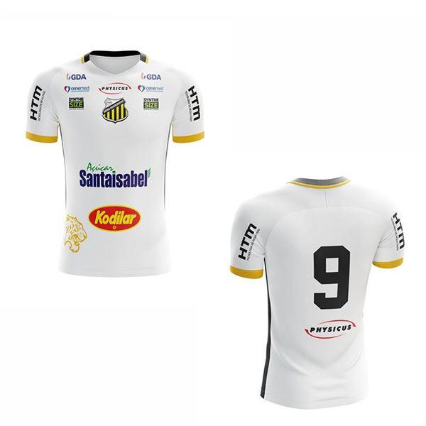 Imagem de Camiseta Oficial Masculina II - Cor Pred. Branca